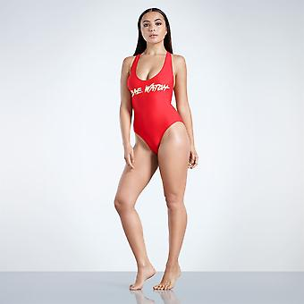 Golddigga Womens Racerback One Piece Swimsuit Beach Swimwear Ladies