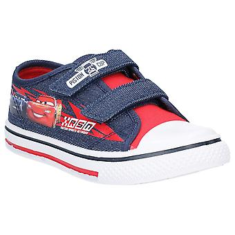 Leomil Kids Cars Low Sneakers touch fastening shoe