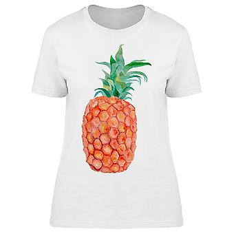 Pineapple With Green Leaves Tee Women's -Image by Shutterstock