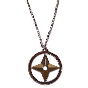 Necklace - Naruto Shippuden - New Throwing Star (Shuriken) Anime Toys ge7820