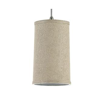 Sea Gull Lighting 94626-994 Pendant with Burlap Shades Satin Nickel Finish