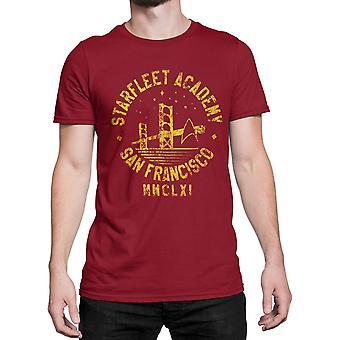Star Trek Starfleet San Francisco miesten ' s T-paita