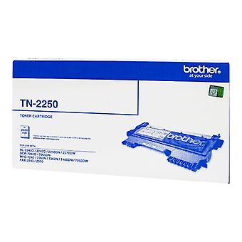 Brother TN2250 toner kassett-svart