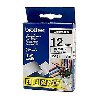 Brother TZe231 Märktejp 12 mm