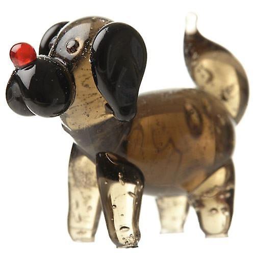 Miniature Glass Dog