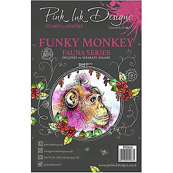 Pink Ink Designs Pink Ink Designs: Funky Monkey Fauna Series