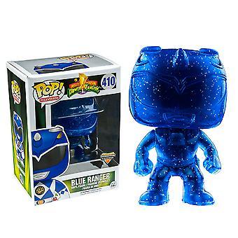 Power Rangers Blue Ranger morphing ons exclusieve pop! Vinyl