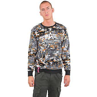 Alpha Industries Men's Sweatshirt Urban Camo