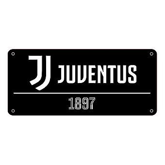 Juventus FC kleur straatnaambord