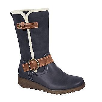 Cipriata Womens/Ladies Pamela Suede Mid Calf Boots
