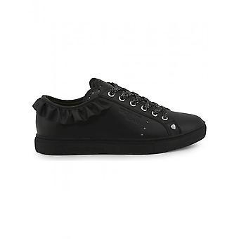 Trussardi - Shoes - Sneakers - 79A00232_K299_BLACK - Women - Schwartz - EU 35