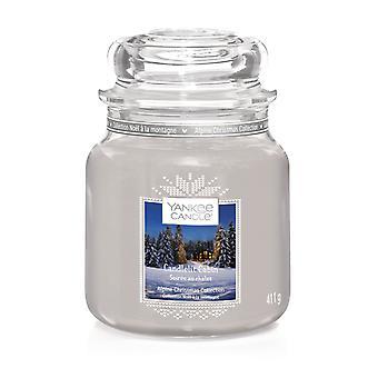 Yankee Kerze klassische Medium Jar Candlelit Kabine 411g