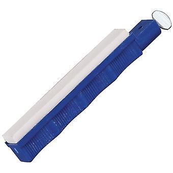Lansky Super Sapphire Polimento Hone, Knife Sharpener, Blue Holder #S2000