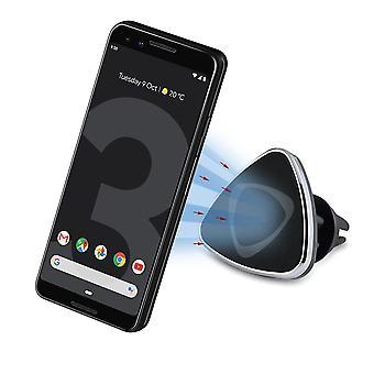 InventCase Air Vent Car Mount Clip Stand Magnetic Mobile Phone Holder for Google Pixel 3 / Pixel 3 XL 2018