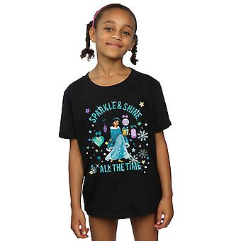 Disney Girls Princess Jasmine Sparkle And Shine T-Shirt