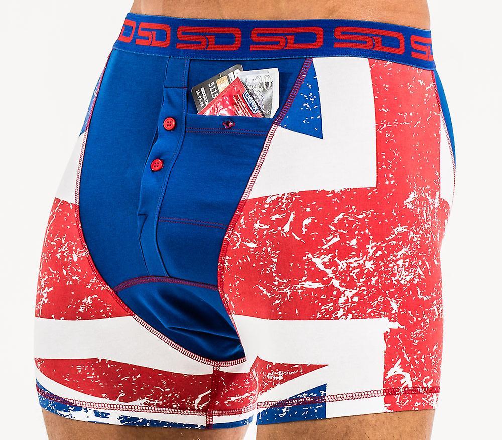Smuggling Duds Pocket Underwear - Union Jack