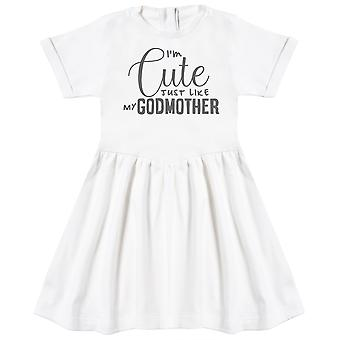 I'm Cute Just Like My GodMother Baby Dress