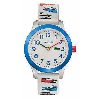 Lacoste 2030021 Children's 12.12 White Silicone Wristwatch