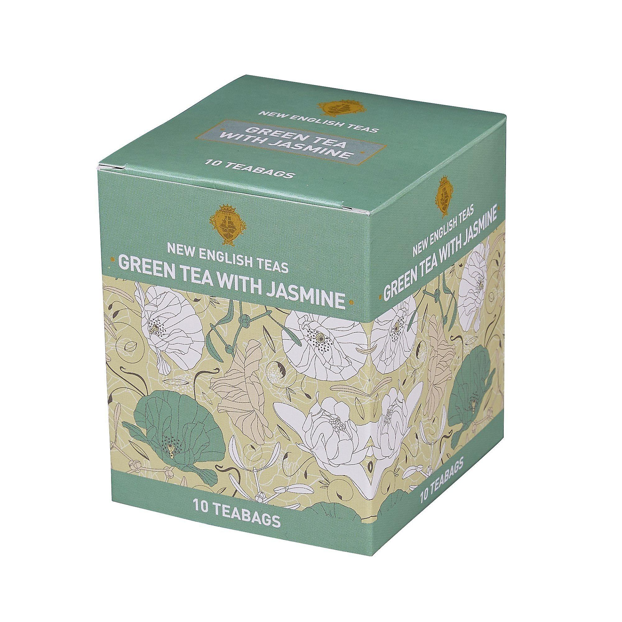Green tea with jasmine 10 individually wrapped teabags