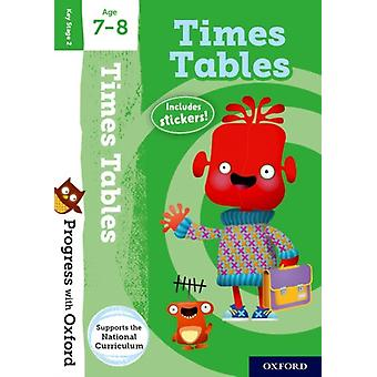 Progress with Oxford Times Tables Age 78 by Robinson