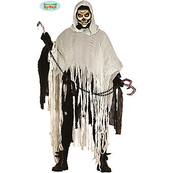 Trajes dos homens Halloween traje fantasma