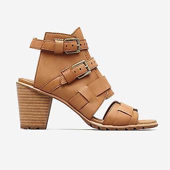 Sorel - Women's Nadia Buckle II Open Toe Wedge Sandals