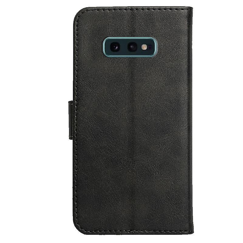 CaseGate phone case case for Samsung Galaxy S10e case cover - with lock closure, stand function and card compartment