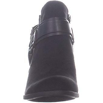 Indigo Rd. Sansun2 Belted Ankle Boots, Black, 7 US