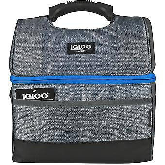 IGLOO MaxCold Gripper 16 Can Lunch Box - Szary