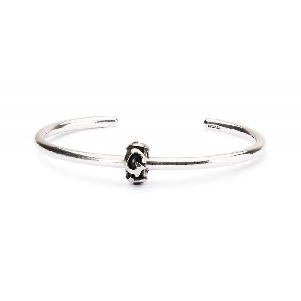 Trollbeads Letter G Silver Spacer