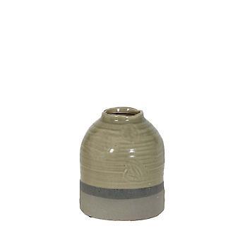 Lys & Levende Pot Deco 17.5x20.5cm Tarcolez Grønn Og Grå