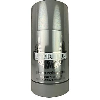 Paco rabanne invictus miehille deodorantti kiinni 2,5 oz alkoholiton