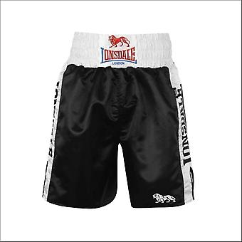Lonsdale pro large logo trunks - black & white