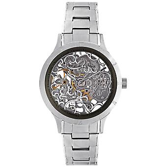 Christian lacroix Automatic Analog Man Watch with CLMS1810 Stainless Steel Bracelet