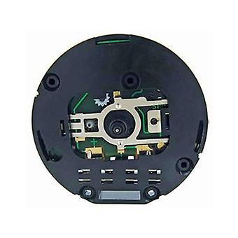 Clock movement quartz carriage clock round with alarm uts german made