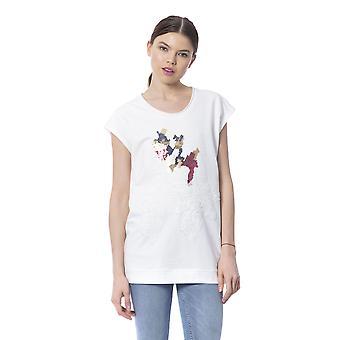 Witte Vrouw Silvian Heach T-shirt
