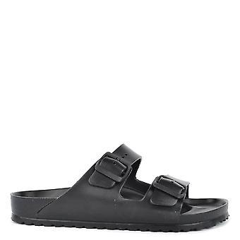 Birkenstock Mens' Arizona zwart Eva twee Strap sandaal