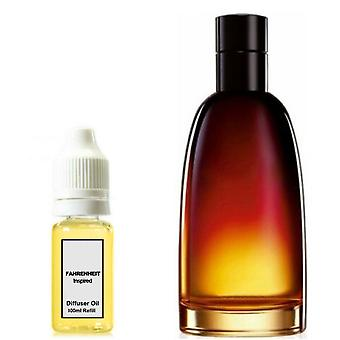 Christian Dior Fahrenheit Voor Hem Geïnspireerd Geur 100ml Refill Essential Diffuser Oil Burner Geur Diffuser