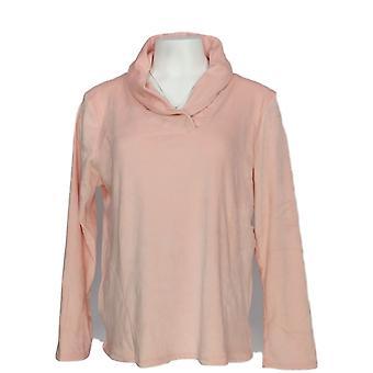 الحضن دودز النساء & s بيتيت بيجامة الأعلى الترا بلوش المخملية الصوف الوردي A369297