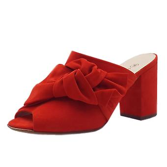 Peter Kaiser Anilia Stylish Chic Sandals In Coral Red