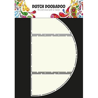 الهولندية Doobadoo الهولندية بطاقة الفن ستينسيل ثلاثية 2 A4 470.713.315