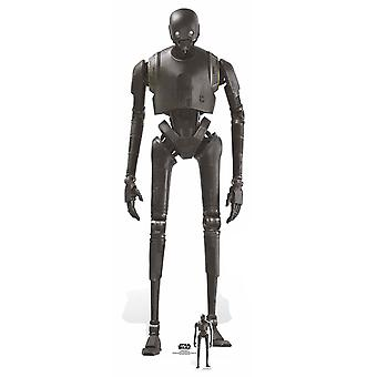K-2SO Droid Rogue One: A Star Wars Story Lifesize Cardboard Cutout / Standee
