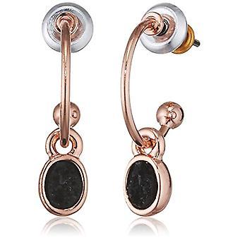 Pilgrim Pendulum Earrings and Drop Gold-Plated Woman - 181744113