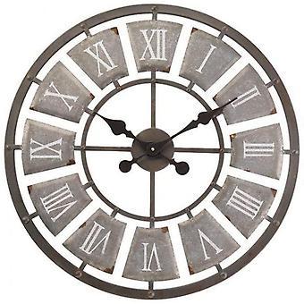 Outdoor/Indoor Garden Wall Clock 24