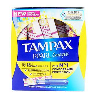 Reguläre Tampons Pearl Tampax (18 uds)