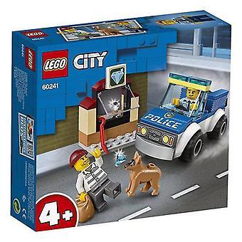 Playset City Police Dog Unit Lego 60241