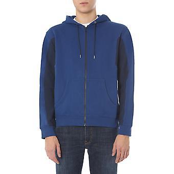 Kenzo Fa55bl7414mc76 Men's Blue Cotton Sweatshirt