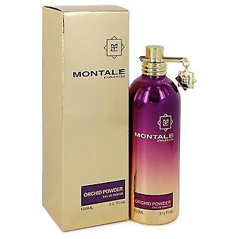 Montale Orchidee Pulver Eau De Parfum Spray (Unisex) von Montale 3.4 oz Eau De Parfum Spray