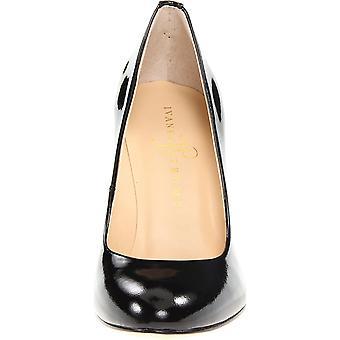 Ivanka Trump Womens JANIE Leather Closed Toe Classic Pumps