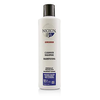 Sistema de purificação derma 6 shampoo de purificador (cabelo quimicamente tratado, afinamento progredido, seguro de cor) 221172 300ml /10.1oz
